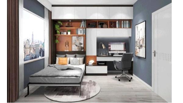 书房和卧室如何更好的兼顾设计