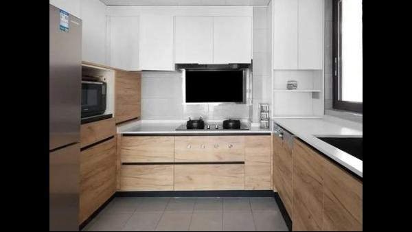做好布局设计的精巧小厨房,最抚凡人心