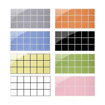 北欧风彩色格子砖