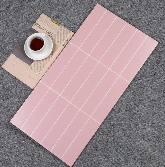 粉色18格